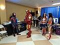 Infinity Con, superhero cosplay.JPG