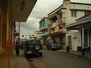 Inhambane City in Inhambane Province, Mozambique