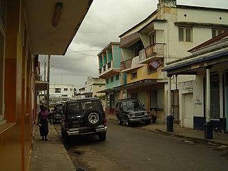 Inhambane - Image: Inhambane street