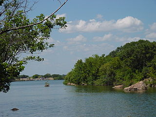 Inks Lake lake in the United States of America