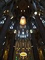 Interior de la Sagrada Família al capvespre, Barcelona (maig 2013) - panoramio.jpg