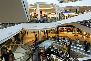 Dundrum Town Centre - The interior of Dundrum Town Centre