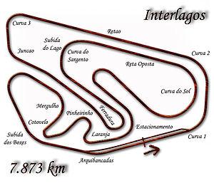 Autódromo José Carlos Pace - Image: Interlagos 1979