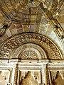 Intriicately designed dome of Man Mandir Gwalior fort.jpg