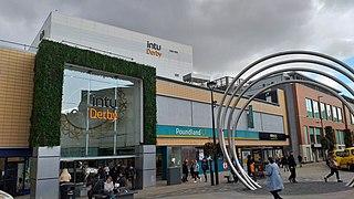 Derbion Shopping mall in Derby, England
