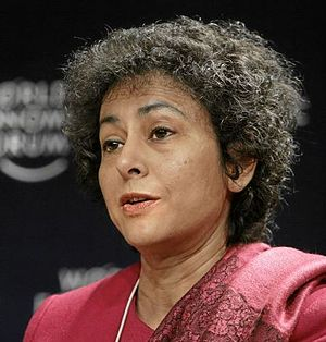 Irene Khan World Economic Forum 2007 cropped