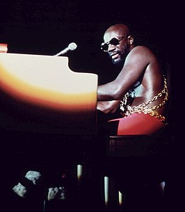 Optreden van Isaac Hayes in het International Amphitheater in Chicago (1973)