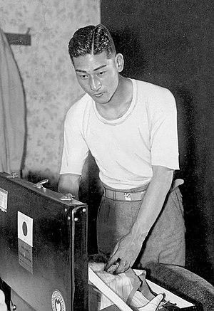Isao Abe - Isao Abe at the 1936 Olympics