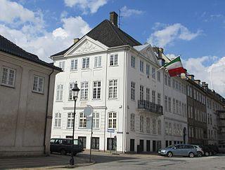 Italian ambassadors residence in Copenhagen