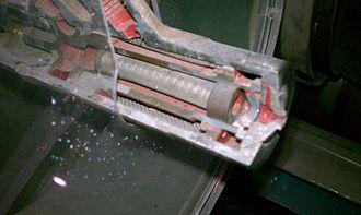 Allison J35 - Cutaway of J35 fuel atomizer
