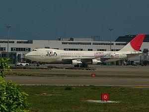 Japan Asia Airways - Japan Asia Airways Boeing 747-200 in final livery