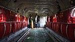 JASDF CH-47J(LR)(37-4489) cabin inside view at Kasuga Air Base November 25, 2017.jpg
