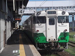 JR East Kiha 40 at Kogota Station.JPG