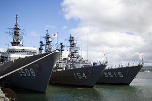 JS Kashima, JS Amagiri, and JS Yamagiri at Pearl Harbor, -18 Aug. 2006 a.jpg
