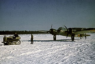 No. 17 Squadron (Finland) 1940s Finnish Air Force bomber replenishment squadron