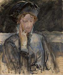 Portrait of Maria Bal (Maria Balowa)