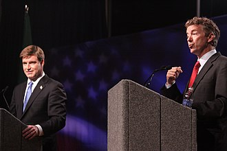 2010 United States Senate election in Kentucky - Rand Paul and Jack Conway debate, October 2010