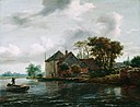 Jacob Isaaksz van Ruisdael - Farm and Hayrick on a River - 37.21 - Detroit Institute of Arts.jpg