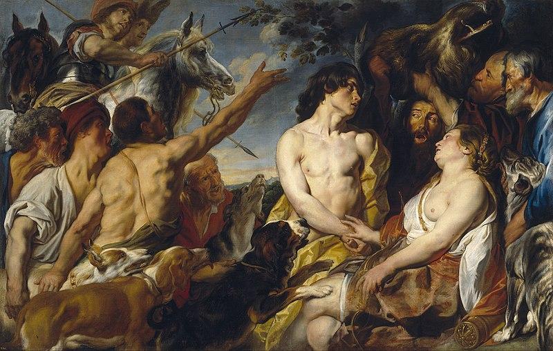 File:Jacob Jordaens - Meleager and Atalanta, 1620-1650.jpg