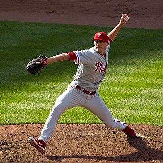 Jake Diekman - Diekman with the Philadelphia Phillies