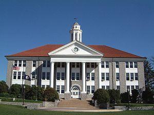 Wilson Hall at James Madison University quad i...