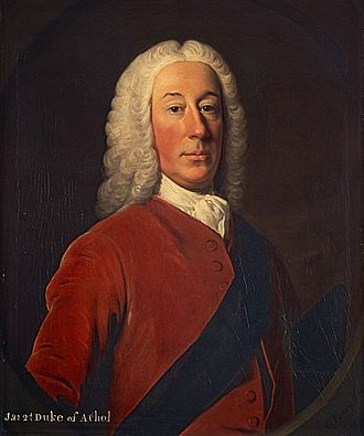 James Murray, 2nd Duke of Atholl - Portrait by Allan Ramsay.