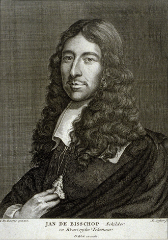 Jan de Bisschop - Jan de Bisschop engraving by David Coster after a portrait by Jan de Baen.
