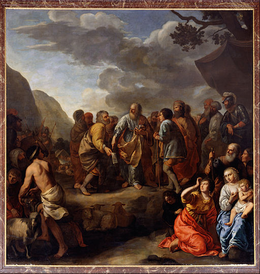 Jan van Bronchorst - Jethro Advising Moses - Google Art Project