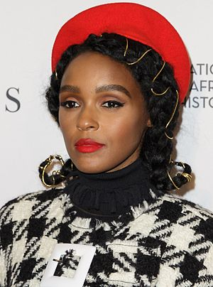 Janelle Monáe - Monáe at a screening of the film Hidden Figures at the Smithsonian's Museum of African American History and Culture, December 2016
