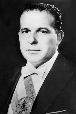 History of the socialist movement in Brazil - João Goulart, President of Brazil from 1961 to 1964.