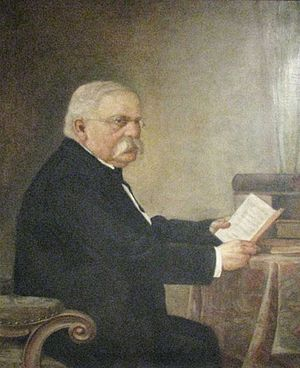 Janko Kamauf - Portrait of Janko Kamauf by Bela Čikoš Sesija on display at the Zagreb City Museum