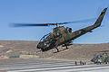 Japan Defense Force Cobra takes off 140904-A-BX700-041.jpg