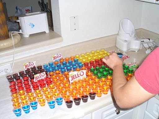 Jello Shot Buffet