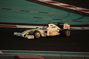 2009 Abu Dhabi Grand Prix - Jenson Button qualified fifth for his first race as World Champion-elect.