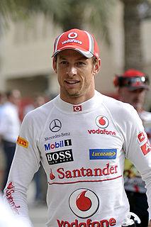 Jenson Button British racing driver