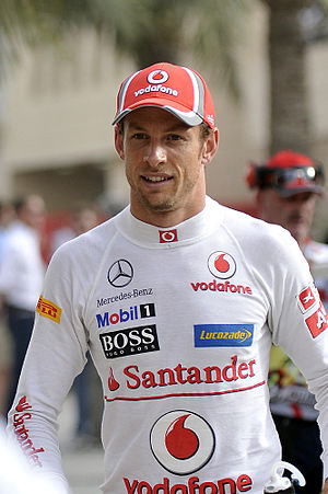 Jenson Button - Button at the 2012 Bahrain Grand Prix