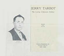 "Jerry Tarbot so called ""Living Unknown Soldier"".jpg"