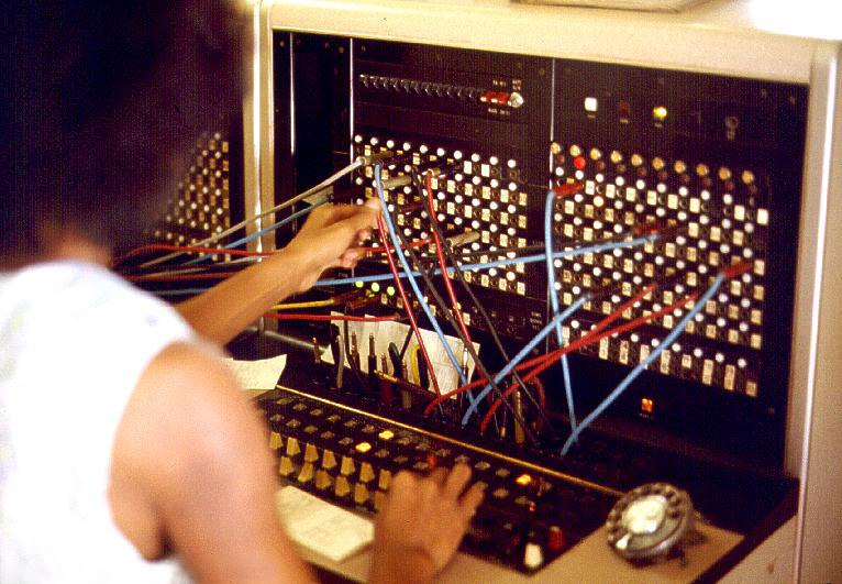 Jersey Telecom switchboard and operator
