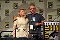 Jessica Hynes and Simon Pegg.jpg