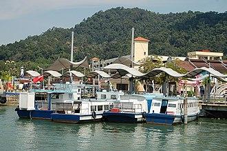 Lumut, Malaysia - Lumut Jetty