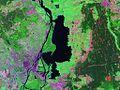 Jezioro Dabie NASA sat view.jpg