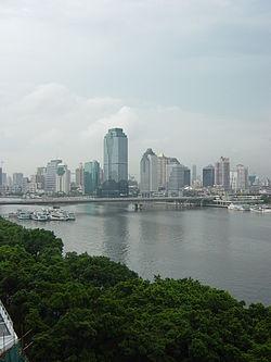 Skyline of Guangta Subdistrict