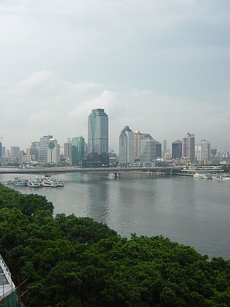 Yuexiu District - Skyline of Guangta Subdistrict