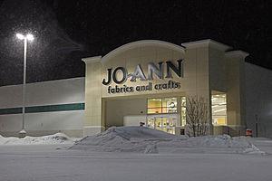 Jo-Ann Stores - Jo-Ann store on US 1 in Saugus, Massachusetts