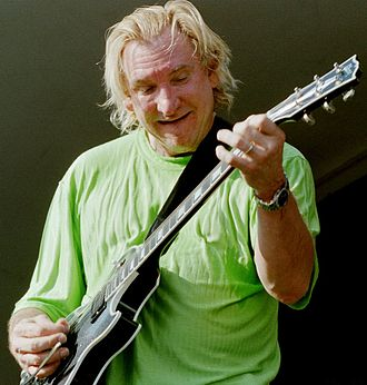 Joe Walsh - Walsh performing live at Gulfstream Park in Hallandale Beach, Florida, 2006