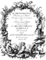 Johann Adolph Hasse - Il trionfo di Clelia - titlepage of the libretto - Vienna 1762.png
