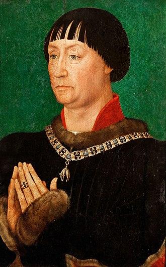 John I, Duke of Cleves - John I, Duke of Cleves by Rogier van der Weyden