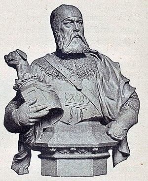 John II, Burgrave of Nuremberg - John II, Burgrave of Nuremberg.  Statue by Ernst Herter, 1899, former Siegesallee in Berlin