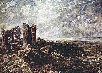 1829 in art - Constable – Hadleigh Castle