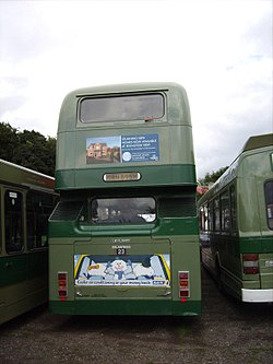 John Fishwick & Sons bus 23 (GRN 895W), 2008 Trans Lancs bus rally (2).jpg